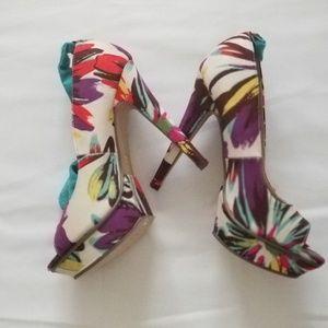 Michad Antonis Floral Multi color Size 9 Shoes